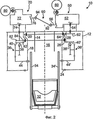 Устройство для распределения шихтового материала в шахтной печи