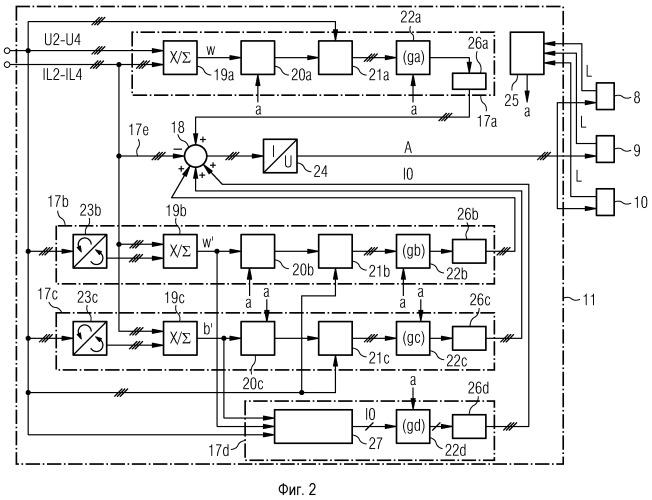 Многоуровневый преобразователь в качестве компенсатора реактивной мощности с симметрированием активной мощности