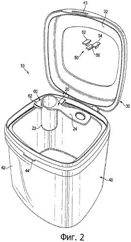 Дозирующее устройство с крышкой и черпаком