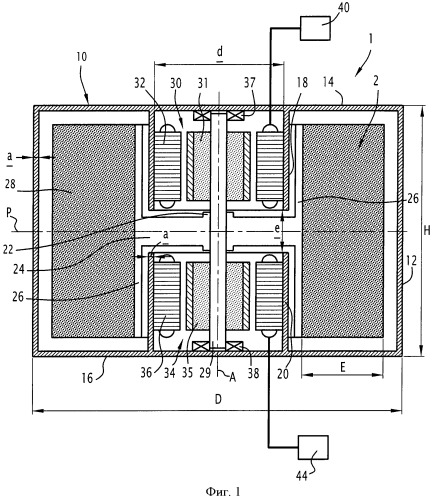 Усовершенствованное устройство накопления электрической энергии с использованием кинетической энергии и рельсовое транспортное средство с таким устройством