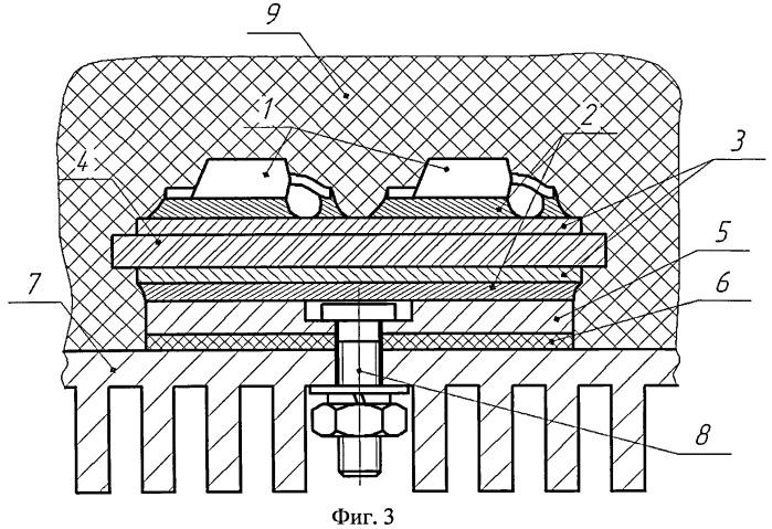 Устройство для отвода тепла от тепловыделяющих радиоэлементов