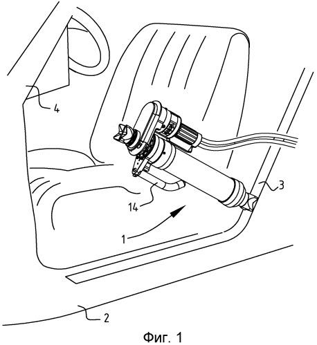 Устройство, содержащее цилиндр, например, разжимное устройство