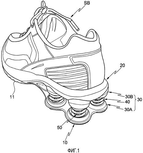 Амортизирующие ботинки с улучшенными характеристиками сборки и эксплуатации