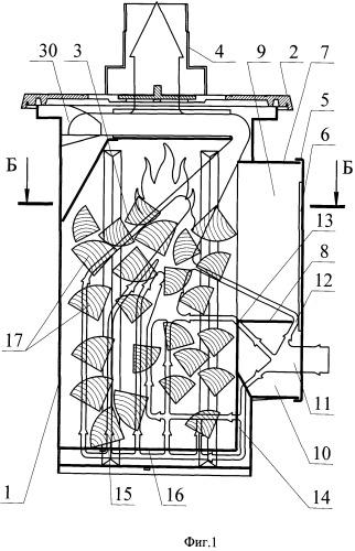 Способ сжигания топлива в печи и печь для реализации указанного способа