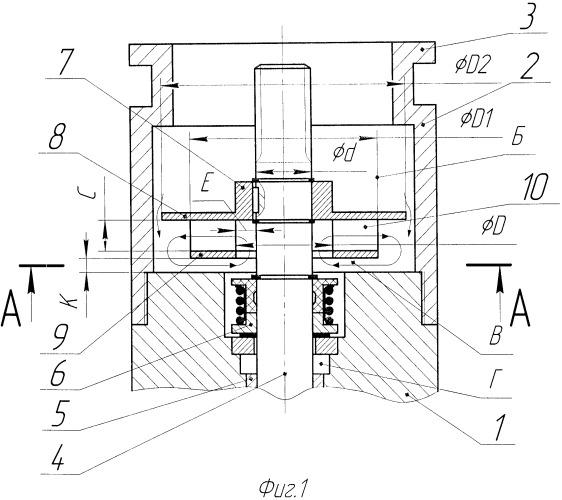 Протектор для гидравлической защиты погружного маслозаполненного электродвигателя