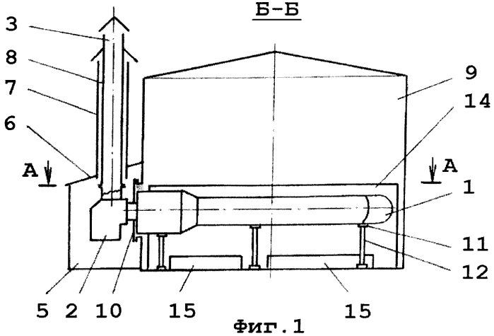 Устройство для подогрева воды в резервуаре