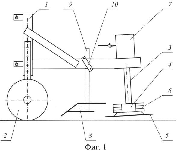 Машина для отделения отводков вегетативно размножаемых подвоев