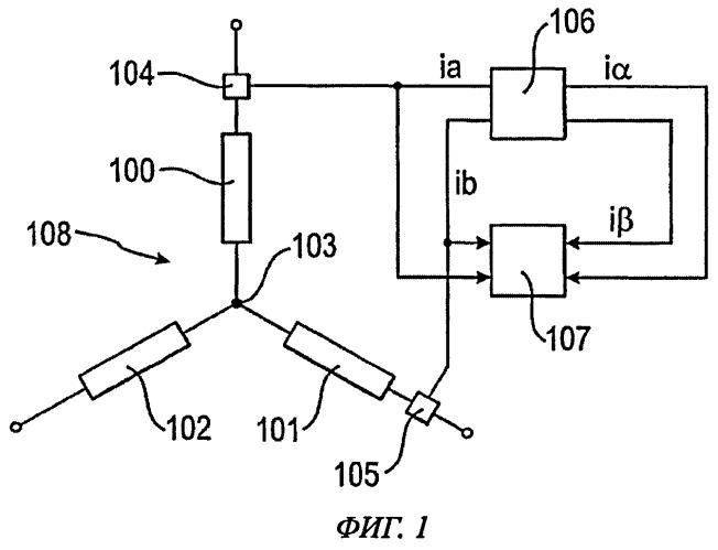 Способ мониторинга контроллера трехфазного электродвигателя и/или электродвигателя