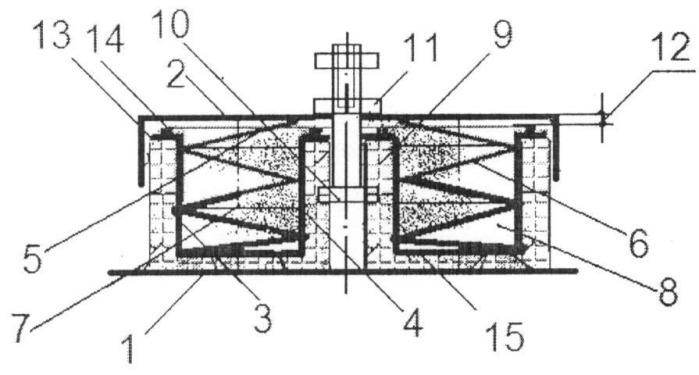 Тарельчатый виброизолятор кочетова