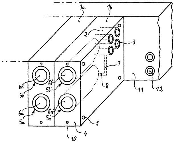 Компоновка клапанов для управления тормозными, а также дополнительными устройствами пневматической тормозной системы транспортного средства