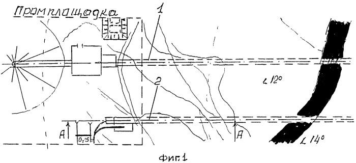 Способ открыто-подземной проходки вскрывающих наклонных горных выработок (стволов)