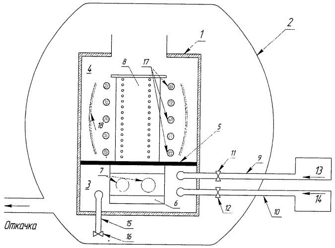 Способ нанесения двухкомпонентных хром-алюминиевых покрытий на внутренние полости охлаждаемых рабочих лопаток газовых турбин и устройство для осуществления способа