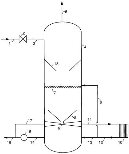 Способ удаления газообразных загрязнителей из потока газа, содержащего газообразные загрязнители и устройство для его осуществления