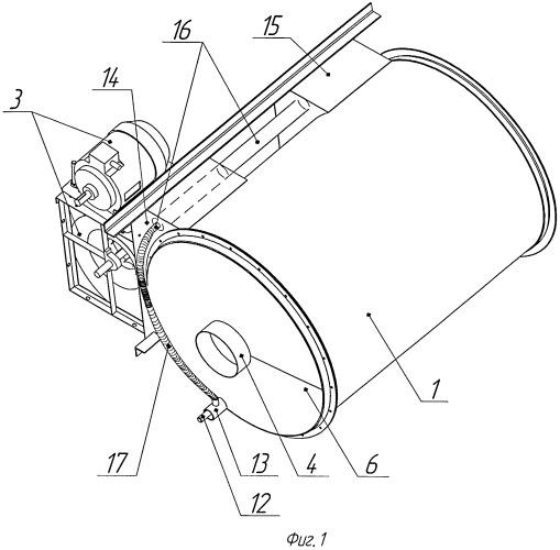 Воздухонагреватель рекуперативный револьверного типа