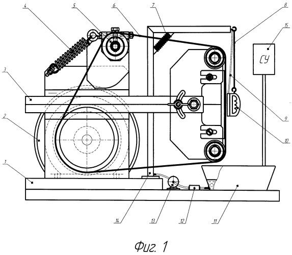 Точильно-доводочный аппарат для заточки режущих пар стригальных машинок