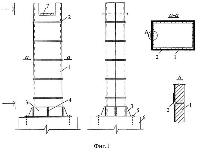 Колонна для реконструируемых зданий