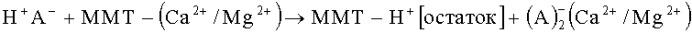 Способ очистки немодифицированного бентонита на основе монтмориллонита
