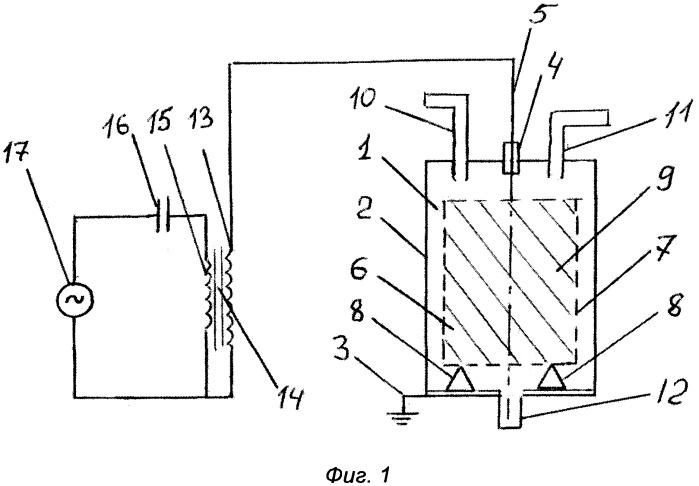 Способ и устройство для получения водорода из воды