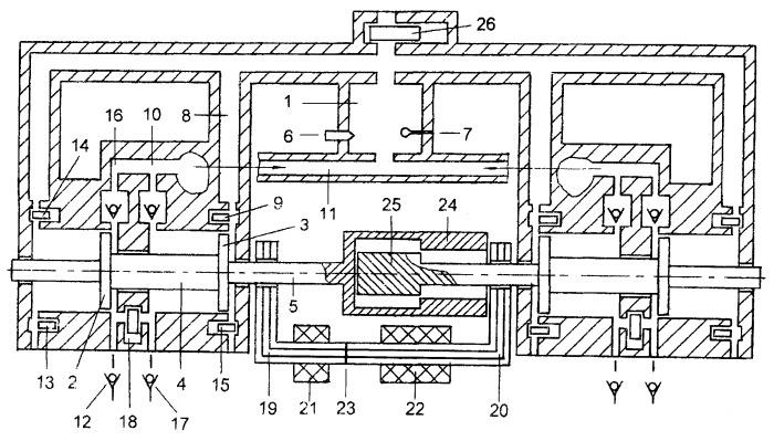 Способ управления фазами электроэнергии полимодульного электрогенератора на базе свободнопоршневого энергомодуля с внешней камерой сгорания