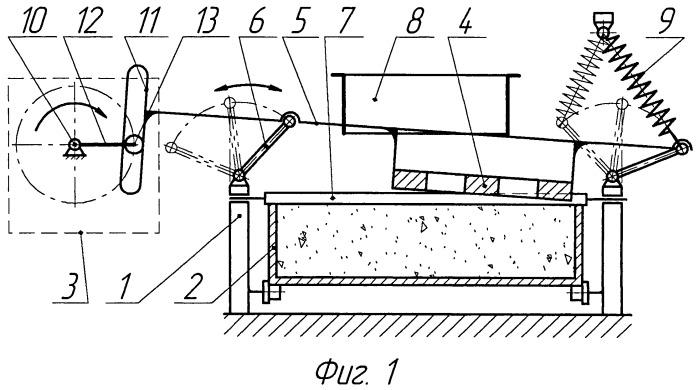 Устройство для формования изделий из сыпучих порошкообразных материалов