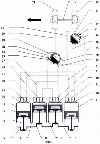 Способ работы поршневого двигателя