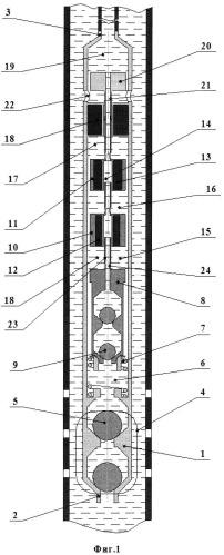Электромагнитный глубинный насос