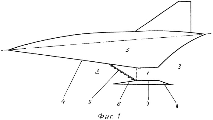Способ организации детонационного режима горения в камере сгорания гиперзвукового прямоточного воздушно-реактивного двигателя