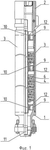 Погружной многоступенчатый модульный насос и ступень насоса