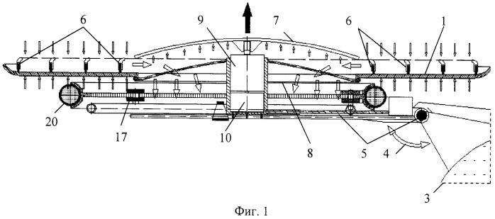 Способ формирования подъемной силы для подъема и перемещения груза в воздушной среде (вариант русской логики-версия 5)