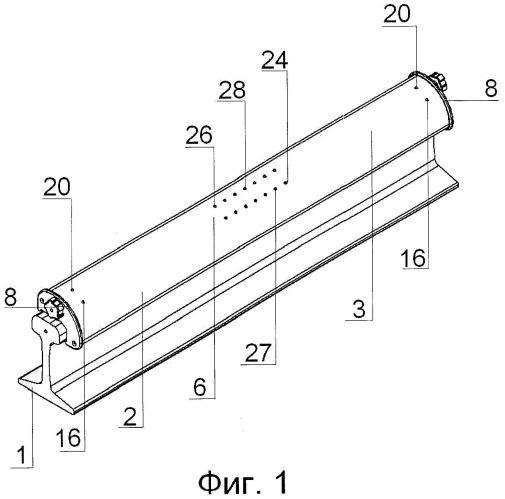 Устройство автоматического контроля прямолинейности сварных стыков рельсов и способ его использования