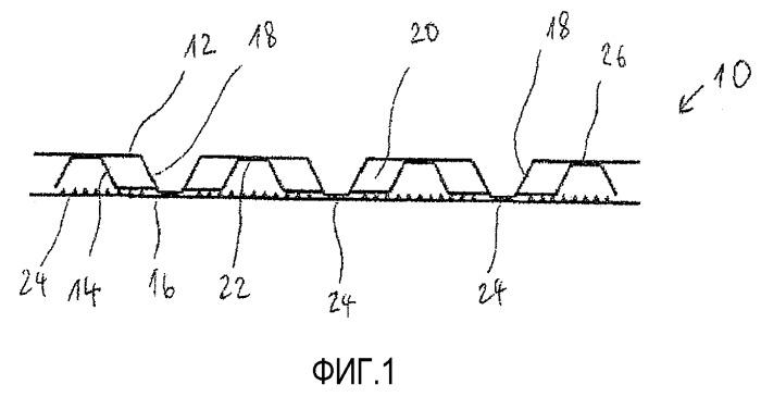 Волокнистый продукт, способ его изготовления и устройство для изготовления такого волокнистого продукта