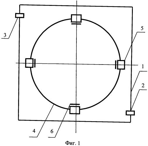 Устройство для мониторинга параметров пучка ионов