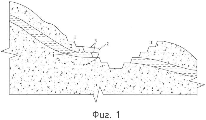 Способ открытой разработки месторождений полезных ископаемых с притоком грунтовых вод