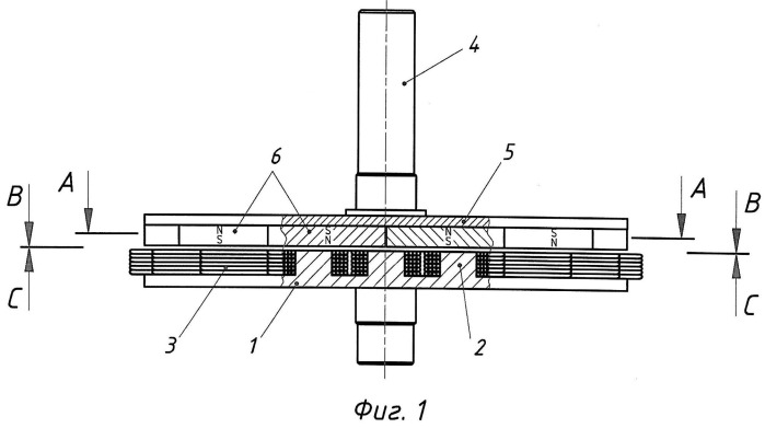 Магнитноэлектрический генератор