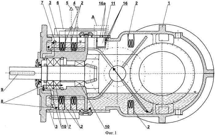 Корпус механического оборудования, в частности коробки передач, с охладамой внутренней аппаратной камерой