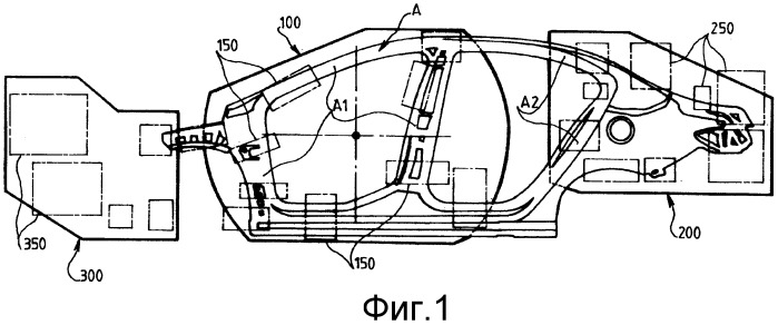 Установка и способ сборки боковин пассажирской кабины транспортного средства