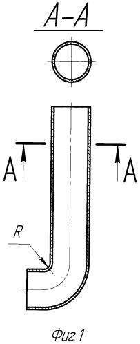 Способ изготовления крутоизогнутых тонкостенных труб заданного профиля