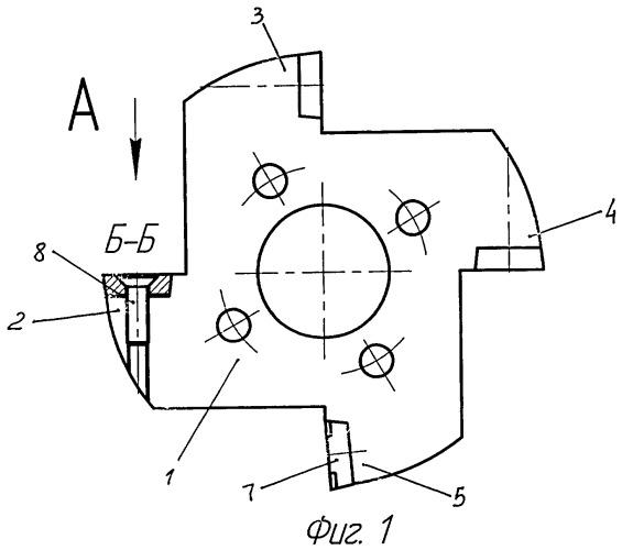 Сборный дисковый фасонный резец
