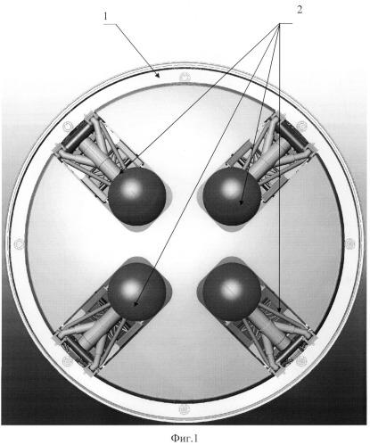 Посадочное устройство космического корабля