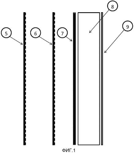 Панель солнечного коллектора и система панелей солнечного коллектора