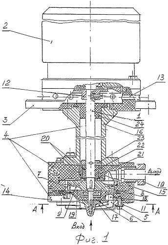 Центробежно-вихревой двухступенчатый насос