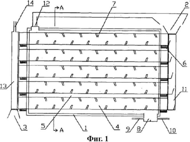 Многотрубное устройство для разложения угля с внешним нагреванием
