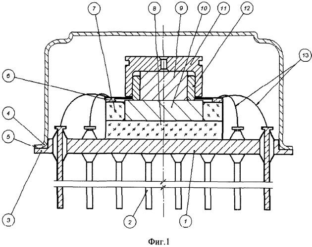 Способ изготовления вакуумного микрогироскопа