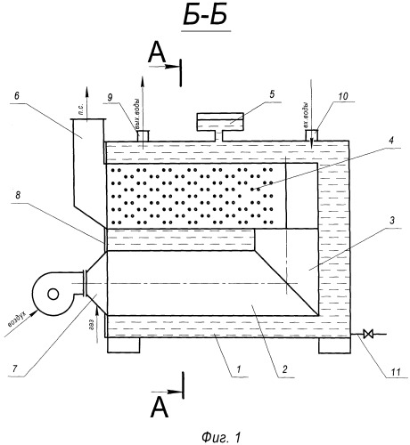 Газовый отопительный модуль