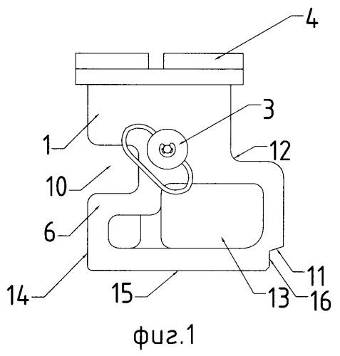 Быстросъёмный кронштейн для крепления дополнительных устройств на автоматы калашникова (варианты)
