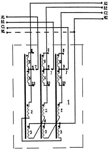 Трехфазное симметрирующее устройство