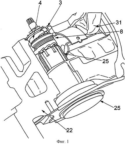 Регулировочное устройство для дискового тормозного механизма