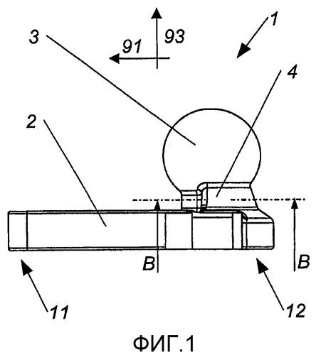 Тягово-сцепное устройство для прицепа