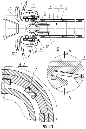 Устройство для крепления и последующего разделения ступеней ракеты-носителя пакетной схемы