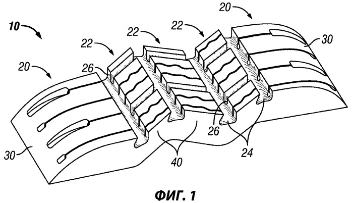 Протектор шины, содержащий несколько слоев износа